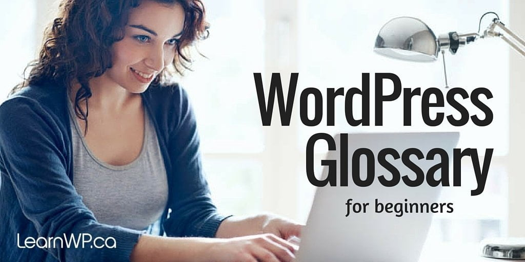 WordPress Glossary for beginners