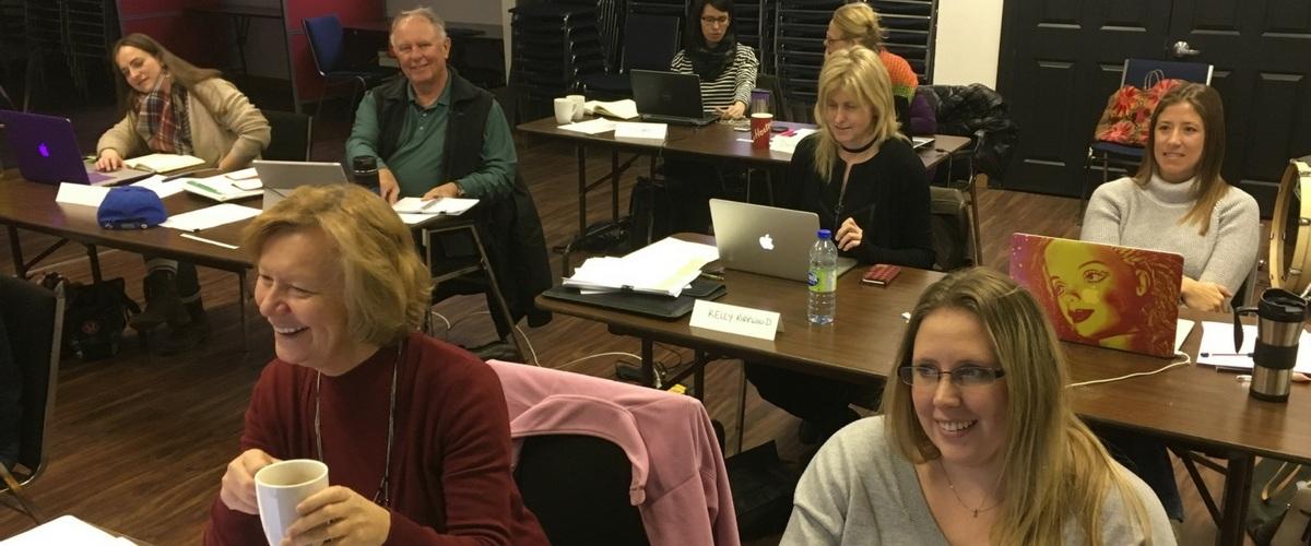 Students Learning WordPress in Toronto