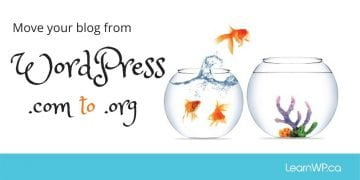 Move your blog from WordPress .com to .org
