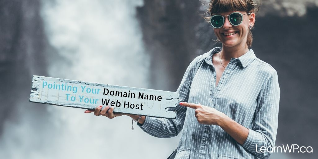 Point your domain name to your web host