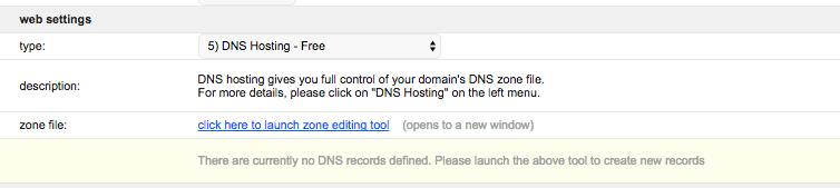 Namespro DNS Hosting