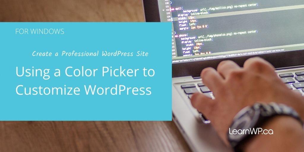 Color Cop: choosing website colours (for Windows)