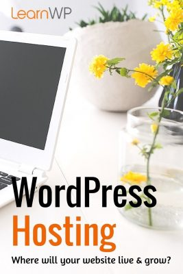 WordPress Hosting Where will your website live and grow
