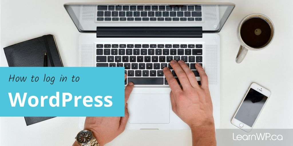 how to log in to WordPress