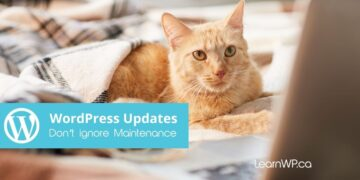WordPress Updates Don't Ignore Maintenance