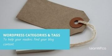 Making the Most of Categories & Tags