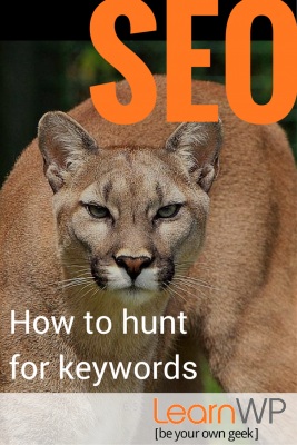 SEO: How to hunt for keywords