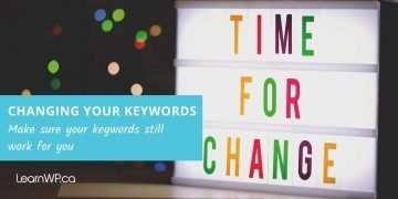 Tips for Keyword Change