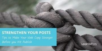 stronger web copy