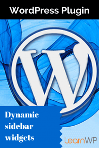 Dynamic Sidebar Widget WordPress Plugin