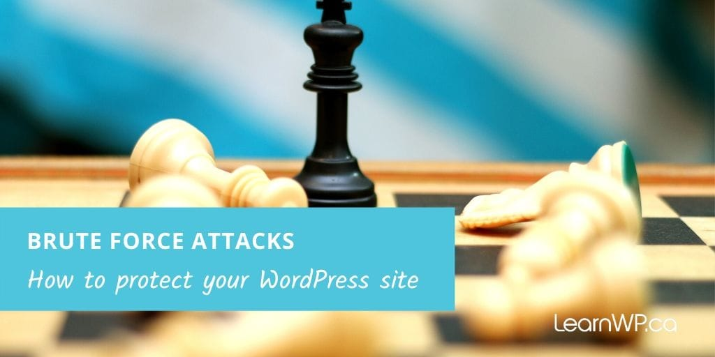 Protect your site from Brute force attack