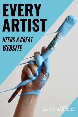 Every Artist needs a great website