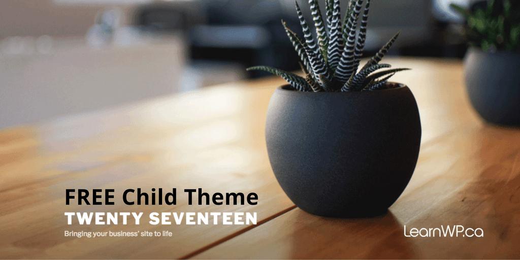 Twenty Seventeen Child theme Download