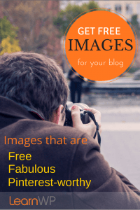 Where to find Free and Fabulous images for your website or blog