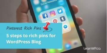 Get Pinterest Article Rich Pins for your WordPress blog