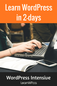 Learn WordPress in 2-days