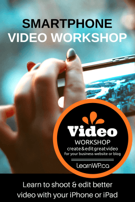 smartphone video workshop