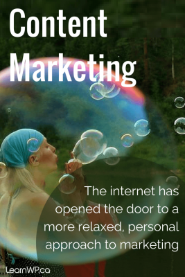 The internet has opened the door to a more relaxed, personal approach to marketing