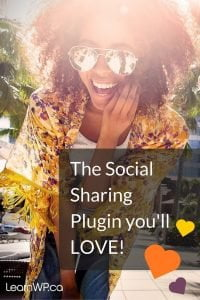 The Social Sharing Plugin you'll love!