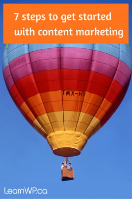 Air Balloon: Content Marketing