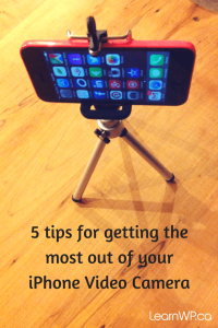 5 tips for getting the most out of your iPhone Video Camera