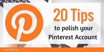 20 Pinterest Tips
