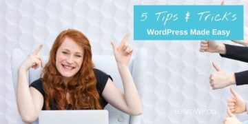 Tips to Customize & Manage a WordPress Website