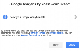 Connecting to your Google Analytics Account