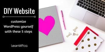 DIY Website   Customize WordPress yourself with these 5 steps