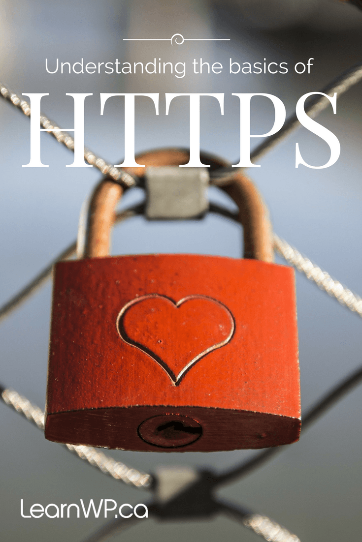 Lock on fence: HTTPS, SSL for site security