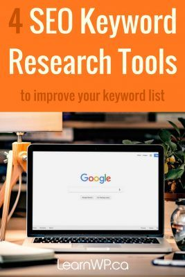4 keyword research tools to improve your keyword list