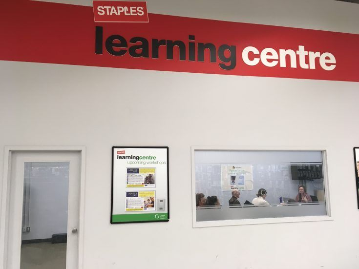 Staples Learning Centre