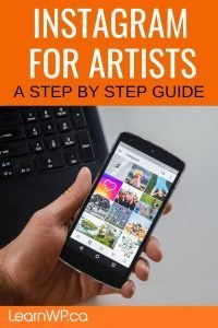 Instagram for Artists a step by step guide