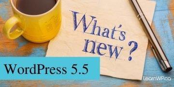 WordPress 5.5 What's new?