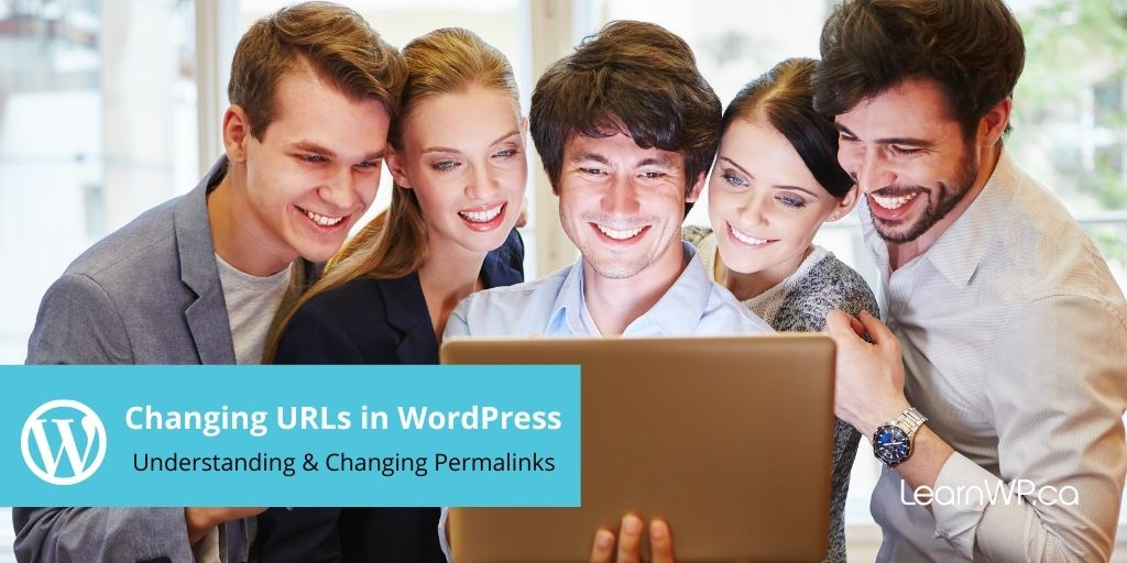 Changing URLs in WordPress